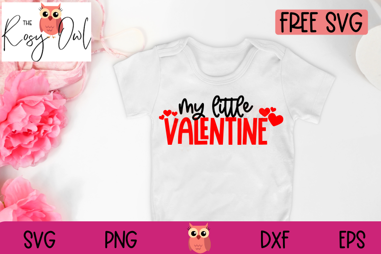 My Little Valentine SVG | Free SVG Design