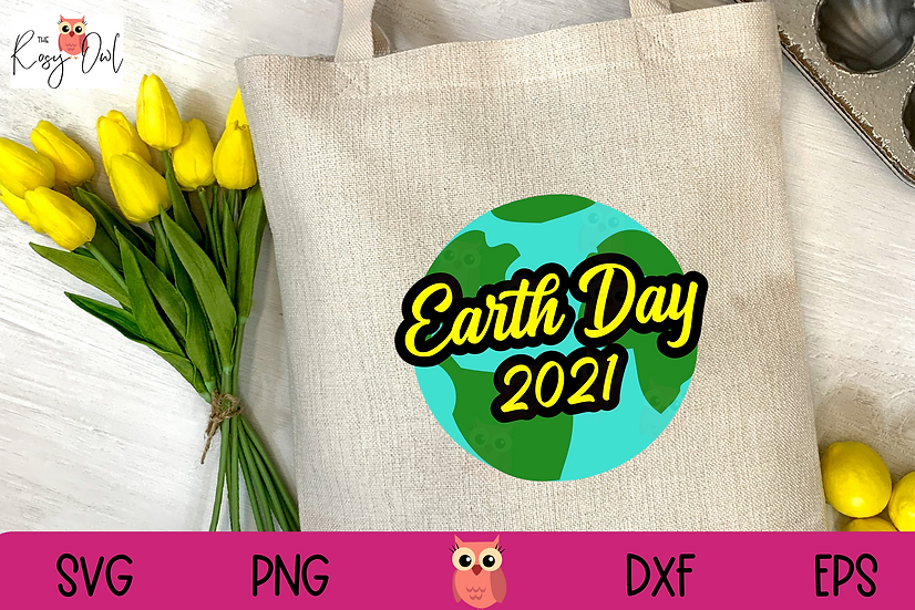 2021 Earth Day SVG | Globe SVG