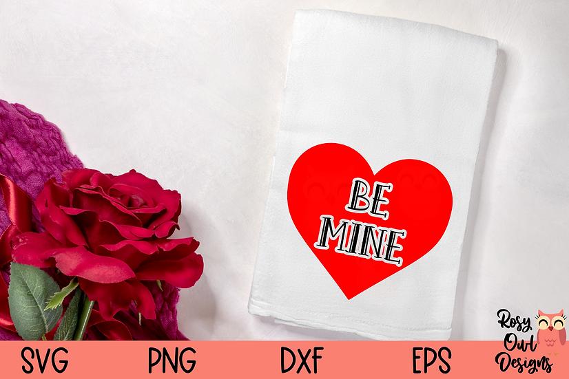 Be Mine SVG   Heart SVG