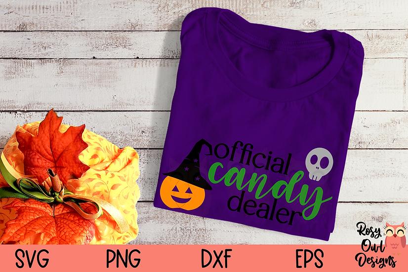 Candy Dealer SVG | Funny Halloween SVG