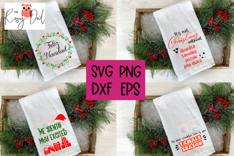 Latino Christmas SVG Bundle