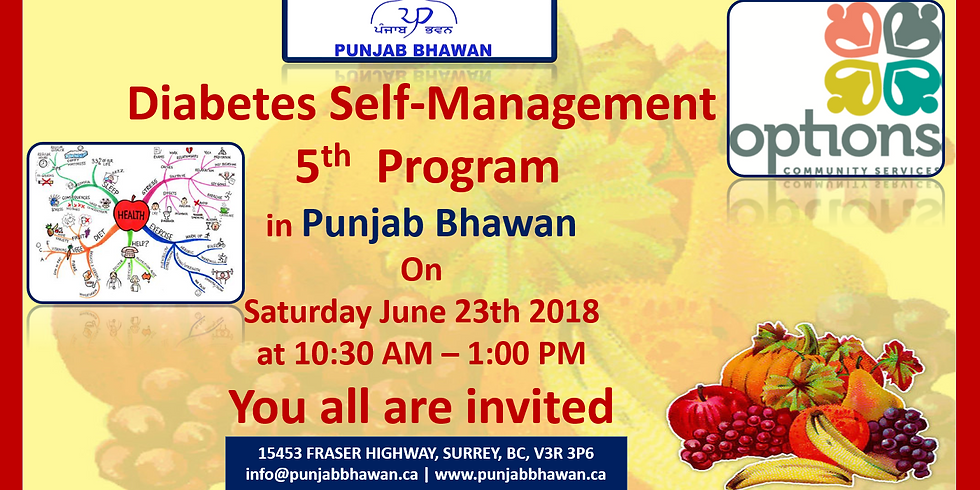 Diabetes Self-Management 5th Program