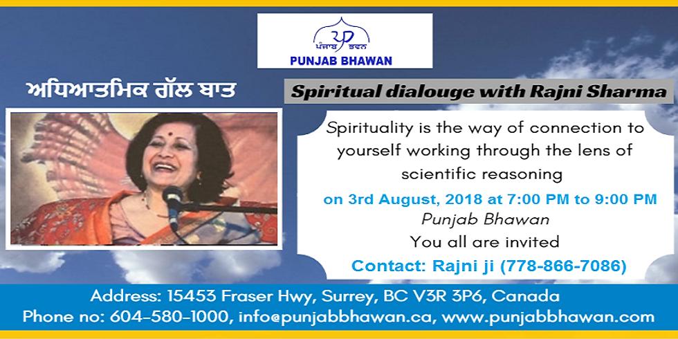 Spiritual Dialogue with Rajini ji (1)