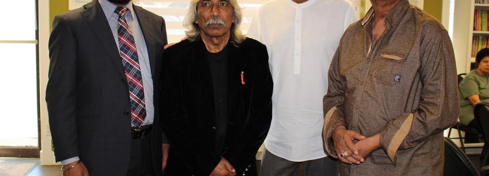 Baba Nazmi in Punjab Bhawan
