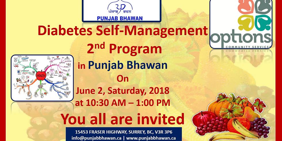 Diabetes Self-Management 2nd Program