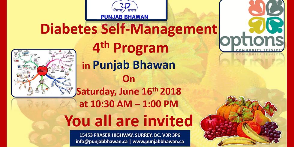 Diabetes Self-Management 4th Program