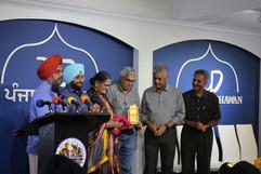 "The successful show of documentary film ""Imroz - Yaadan Da Safar by Harjit Singh in Punjab Bhawan."
