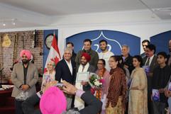 Inderjit Dhami Book release program