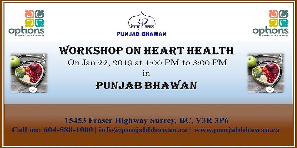 Workshop on Heart Health