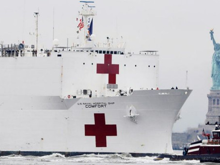Trump delivers USNS Comfort and Mercy as promised