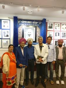 """Gill Moranwali book """"Loona Puran Magedi"""" release ceremony."""