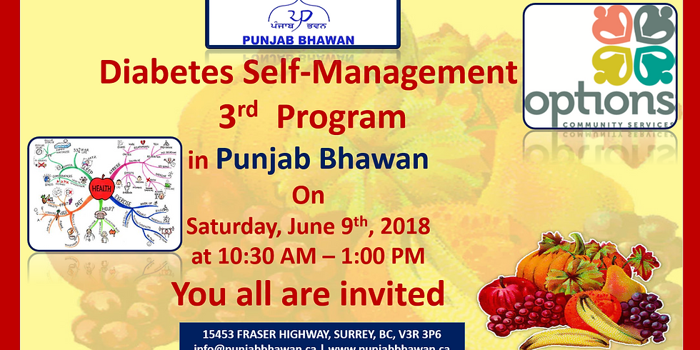 Diabetes Self-Management 3rd Program