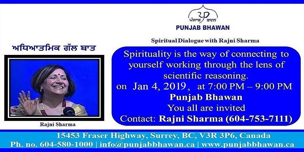 Spiritual Dialogue with Rajni Sharma
