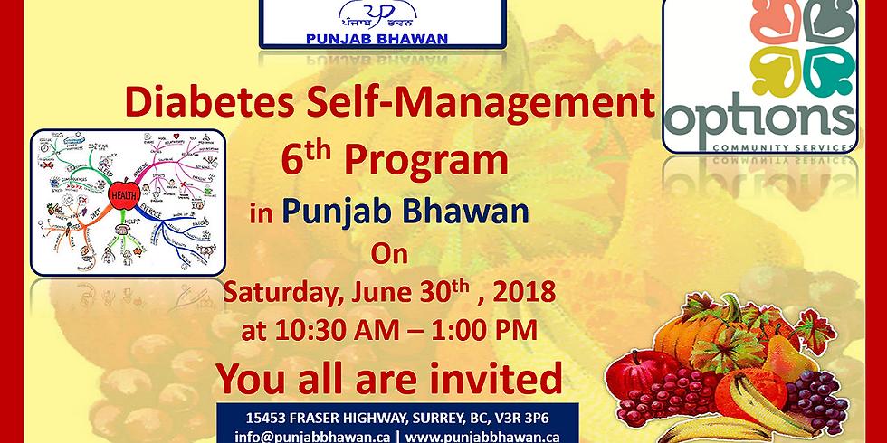 Diabetes Self-Management 6th Program