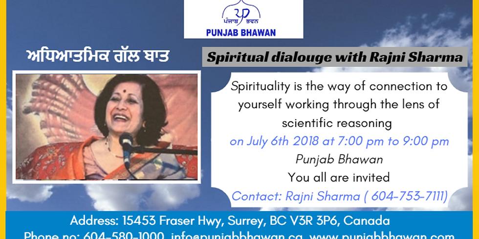 Spiritual Dialogue with Rajini Sharma