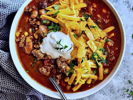 Foreign Trout and Taco Soup