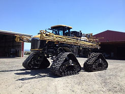 Soucy Tracks On Self Propelled Rogator Sprayer