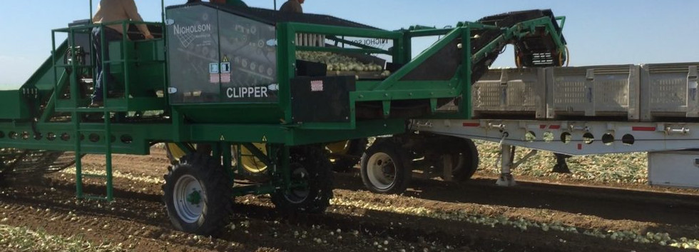 Nicholson Onion Clipper Loader