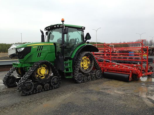 Soucy Tracks JD and Transplanter
