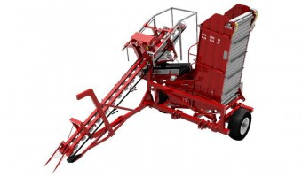Sator Compakt Top Lift Carrot Harvester with bunker