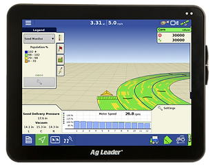 Ag Leader InCommand 1200 GPS Display Monitor For Ontario Growers