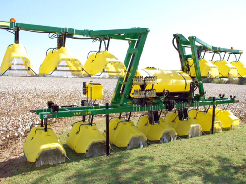 Row Crop Spray Hoods