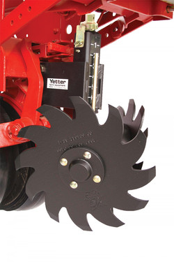 Yetter 2967 Screw Adjust Residue Managers Case IH Planter