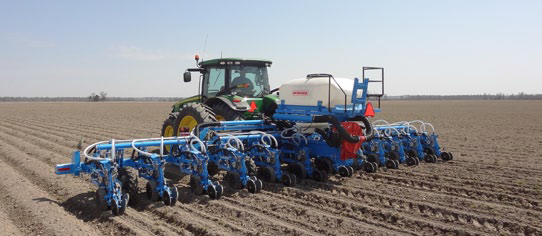 Monosem Mounted Planter Stack Fold