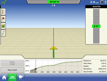 Ag Leader Intellislope™ Grade Control System For Tile Plows, Grading Blades and Dirt Movers