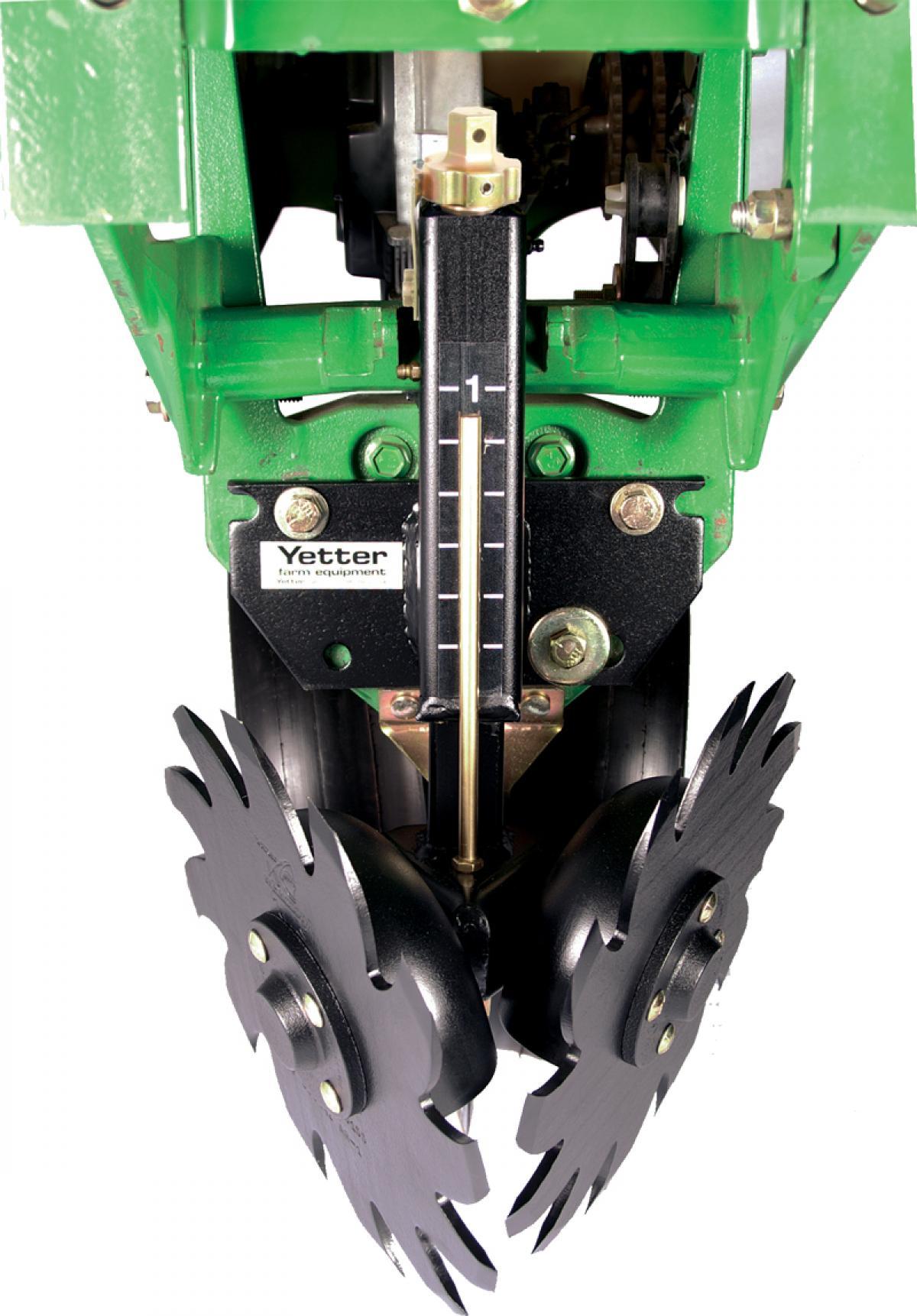 Yetter 2967 Screw Adjust Residue Mangers For John Deere or Kinze Planters