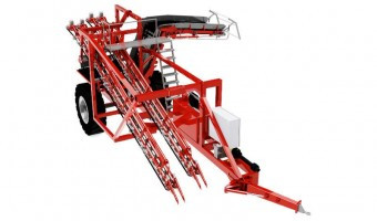 Sator Double Max 2 Row Carrot Harvester.