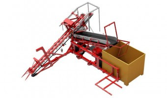 Sator Compakt w Box Filler Carrot Harvester