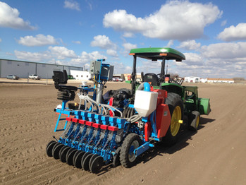 SRES Seed Research Equipment Solutions UNR Plot Seeder and Planter