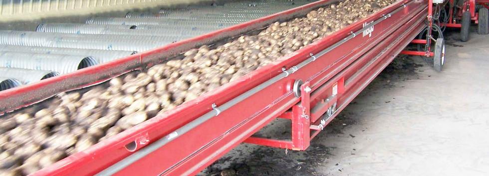Mayo Telescopic Potato and Vegetable Crop Conveyors