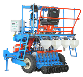SRES Solutions d'équipement de recherche de semences UNR Semoir et planteur de parcelles