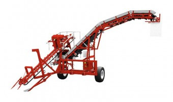 Sator Compakt w Discharge Conveyor Carotte Harvester