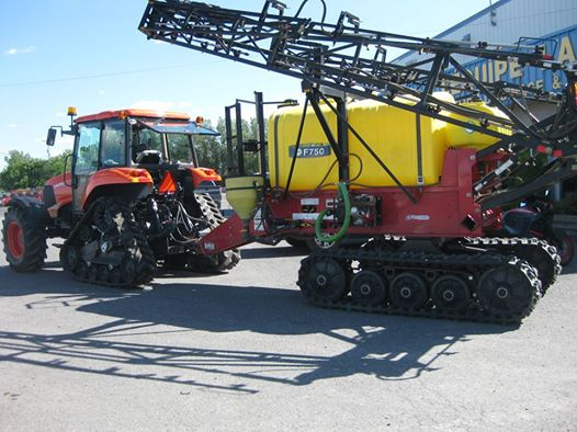 Soucy Tracks Sprayer Pull Type