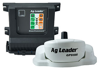 ag leader tractor and macine gps steerin solution