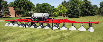REDBALL Row Crop Spray Hood For Specialty Crops and Vegatable Crops
