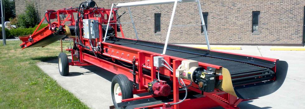 Mayo Unloading Conveyor For Potatoes and Other Veggies