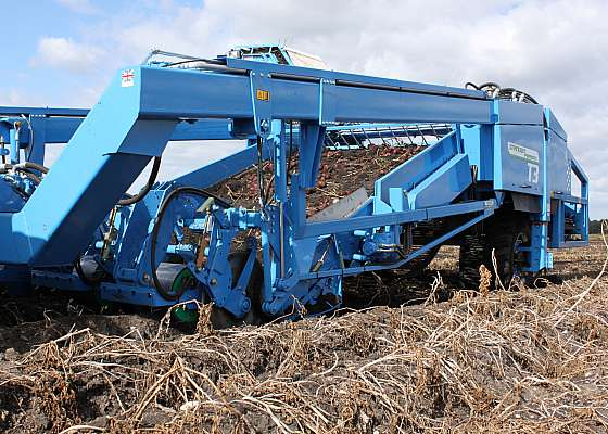Standen T3 3-row Potato Digger