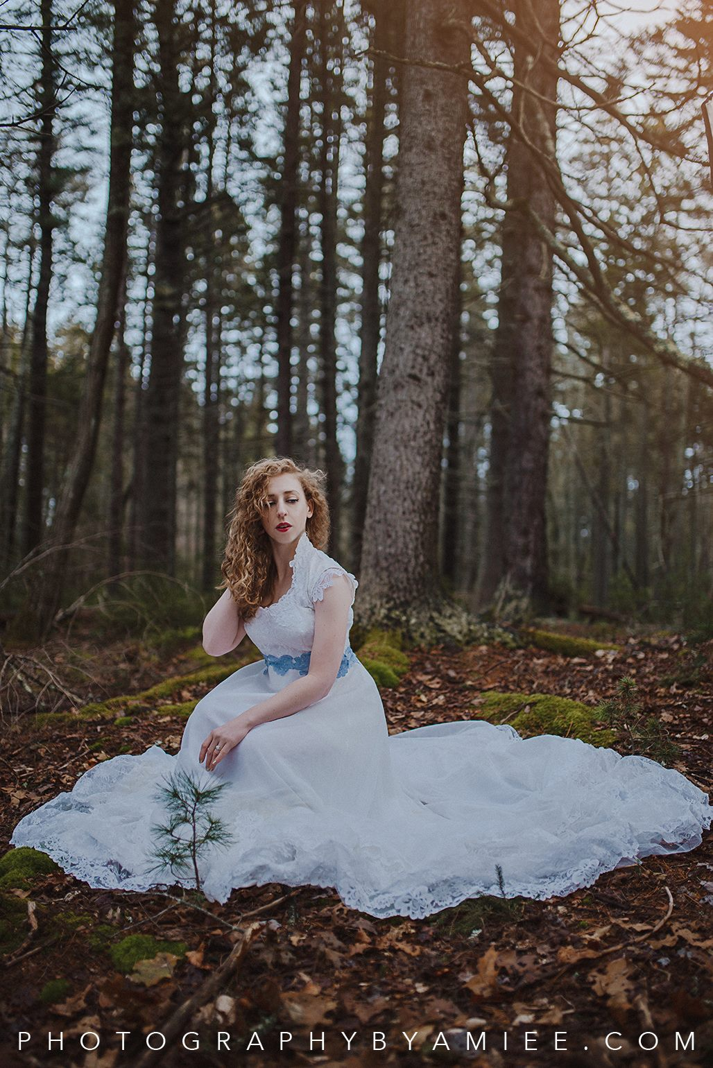 Woodsy Bridal Shoot
