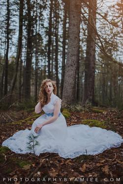 Woodsy Bridal Shoot