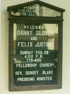 An Evening with Langston and Martin performed at Fellowship Church by Felix Justice and Danny Glover