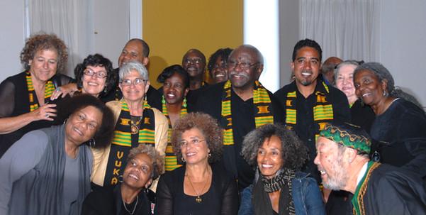 2013 Convo Davis & Choir Portrait