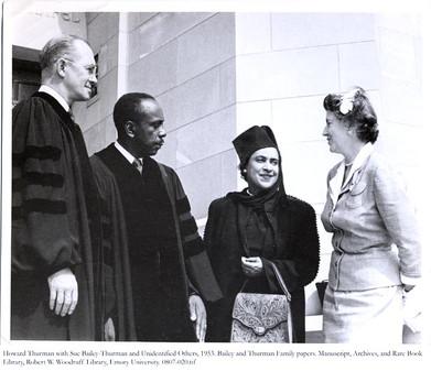 Howard & Sue Bailey Thurman 1953