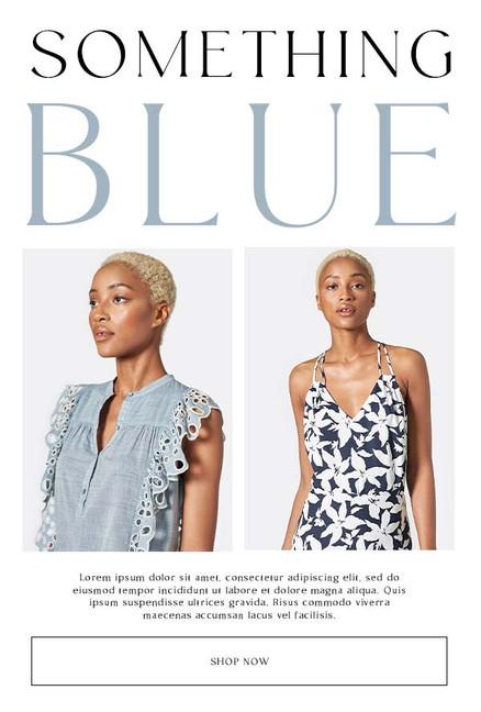 Email Design: Something Blue