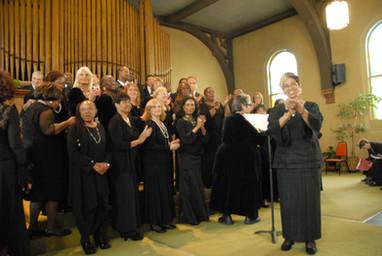 2012 Jacqueline Hairston & Choir