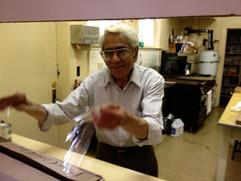 Shashi in the kitchen