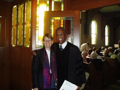 Rev. Benton & Rev. Blake, Ministers of Fellowship Church